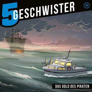 5 Geschwister - Das Gold des Piraten Gerth Medien Hörspiel