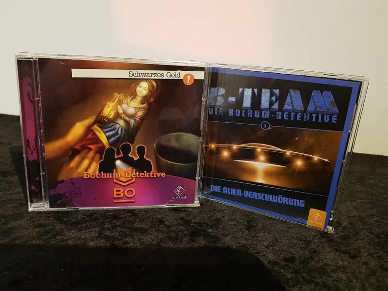 B-Team - Die Bochum Detektive Pit und Land Hörspiel Foto