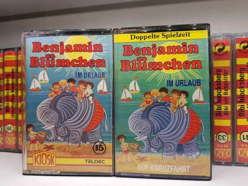 Benjamin Blümchen im Urlaub / auf Kreuzfahrt