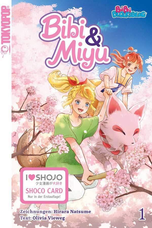 Bibi Blocksberg - Bibi & Miyu Tokyopop Manga