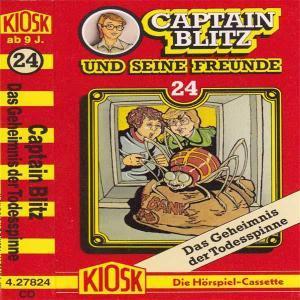 Captain Blitz und seine Freunde - Das Geheimnis der Todesspinne Kiosk Hörspiel