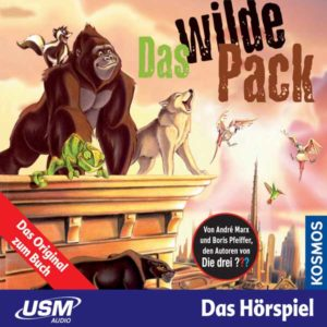 Das wilde Pack - Das wilde Pack United Soft Media Hörspiel