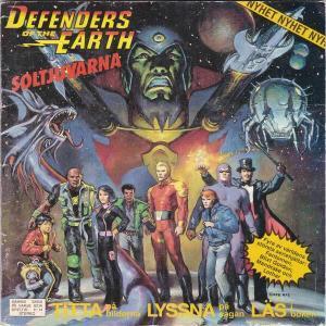 Defenders of the Earth - Soltjuvarna Kassetten Cover