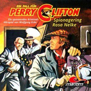 Ein Fall für Perry Clifton Spionagering Rosa Nelke Maritim Hörspiel