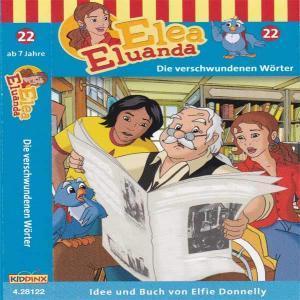 Elea Eluanda - Die verschwundenen Wörter Kiddinx MC Hörspiel