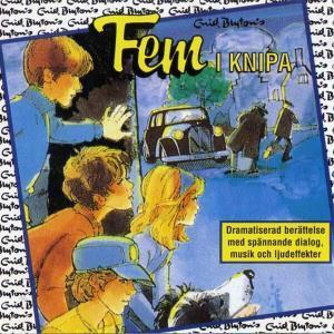 Fem i knipa von Enid Blyton CD Cover