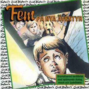 Fem på nya äventyr von Enid Blyton CD Cover