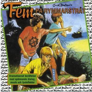 Fem på rymmarstrat von Enid Blyton CD Cover