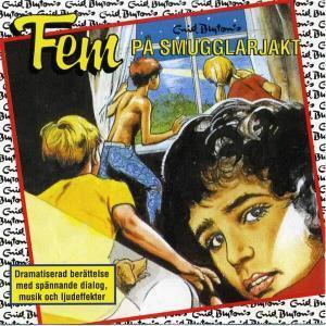 Fem på smugglarjakt von Enid Blyton CD Coverkassette hoerspiel