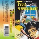 Fem på smugglarjakt von Enid Blyton Kassetten Cover