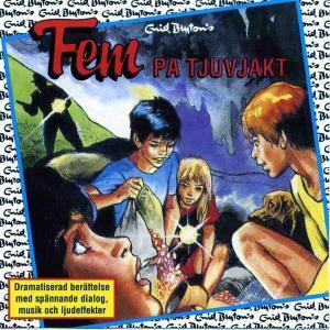 Fem på tjuvjakt von Enid Blyton CD Cover
