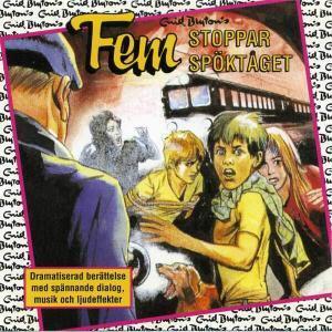 Fem stoppar spöktaget von Enid Blyton CD Cover