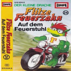 Flitze Feuerzahn - Auf dem Feuerstuhl Europa Hörspiel
