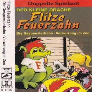 Flitze Feuerzahn - Die Gespensterbahn / Verwirrung im Zoo Marcato Hörspiel