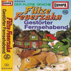 Flitze Feuerzahn - Gestörter Fernsehabend Europa Hörspiel