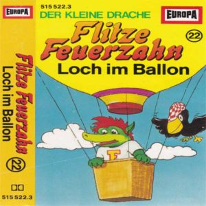 Flitze Feuerzahn - Loch im Ballon Europa Hörspiel