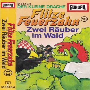 Flitze Feuerzahn - Zwei Räuber im Wald Europa Hörspiel
