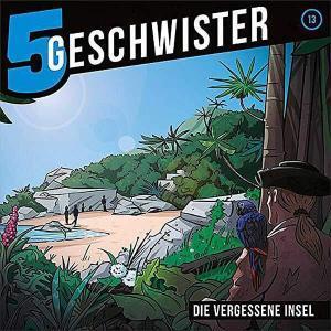 5 Geschwister - Die vergessene Insel Gerth Medien Hörspiel