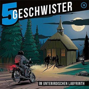 5 Geschwister - im unterirdischen Labyrinth Gerth Medien Hörspiel