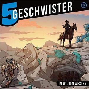 5 Geschwister - Im wilden Westen Gerth Medien Hörspiel