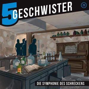 5 Geschwister - Symphonie des Schreckens Gerth Medien Hörspiel