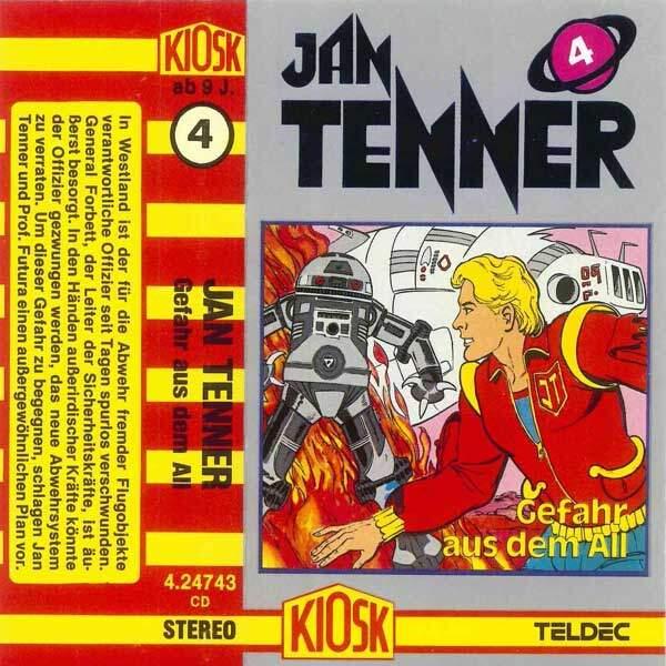 Jan Tenner - Gefahr aus dem All Kiosk Hörspiel