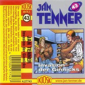 Jan Tenner - Invasion der Ginnicks Kiosk Hörspiel