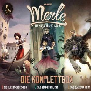 Kai Meyer: Merle - Die Komplettbox Holysoft Hörspiel