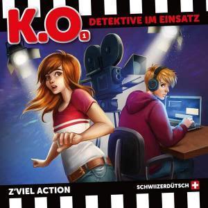 K.O. - Detektive im Einsatz Z'viel Action Bergis Medien Hörspiel