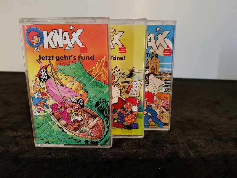 Knax Folge 1 bis 3 Sparksse Hörspiel Foto