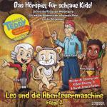 Leo und die Abenteuermaschine und das Rätsel der Wandmalerei e t Media Hörspiel