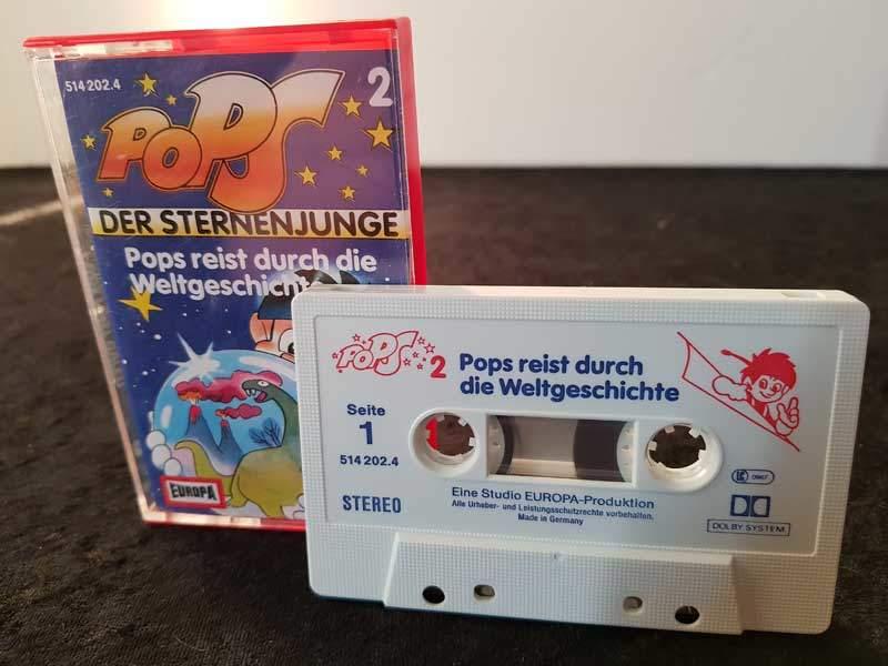 Pops der Sternenjunge - Pops reist durch die Weltgeschichte Hörspiel Europa Foto