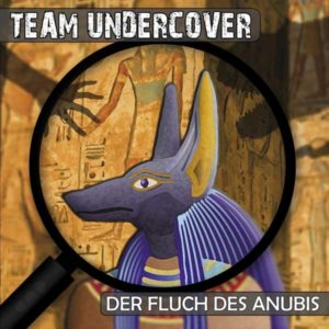 Team Undercover - Der Fluch des Anubis Contendo Media Hörspiel
