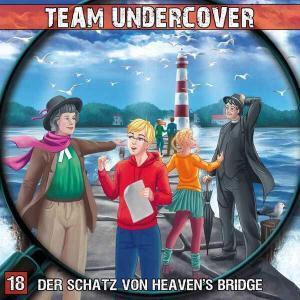 Team Undercover - Der Schatz von Heaven's Bridge Contendo Media Hörspiel