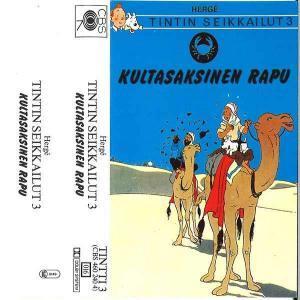Tintin Seikkailut - Kultasaksinen rapu CBS Hörspiel