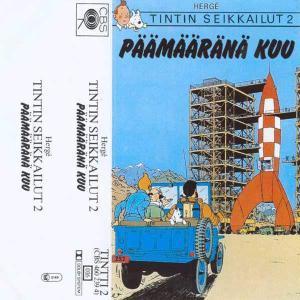 Tintin Seikkailut - Päämääränä kuu CBS Hörspiel