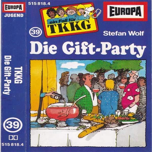 TKKG - Die Gift-Party Europa MC Hörspiel