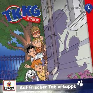TKKG Junior - Auf frischer Tat ertappt Europa Hörspiel