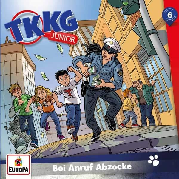 TKKG Junior - Bei Anruf Abzocke Europa Hörspiel
