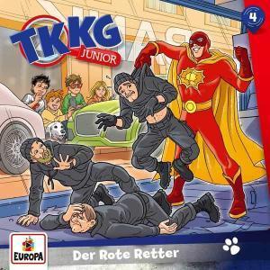 TKKG Junior - Der rote Retter Europa Hörspiel