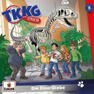 TKKG Junior - Die Dino-Diebe Europa Hörspiel